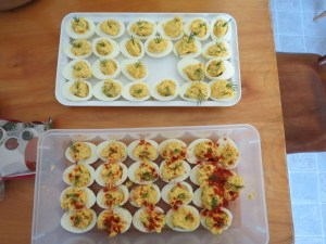 Devilled Eggs for the Party