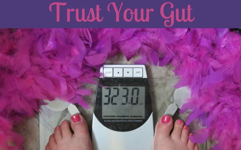Trust Your Gut: Tish's Story; Part 73 | Looking Myself In The Eyes