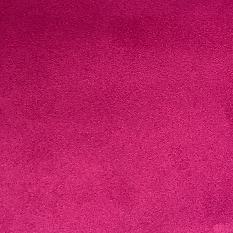 tissu suede d ameublement occultant reversible fuchsia bordeaux