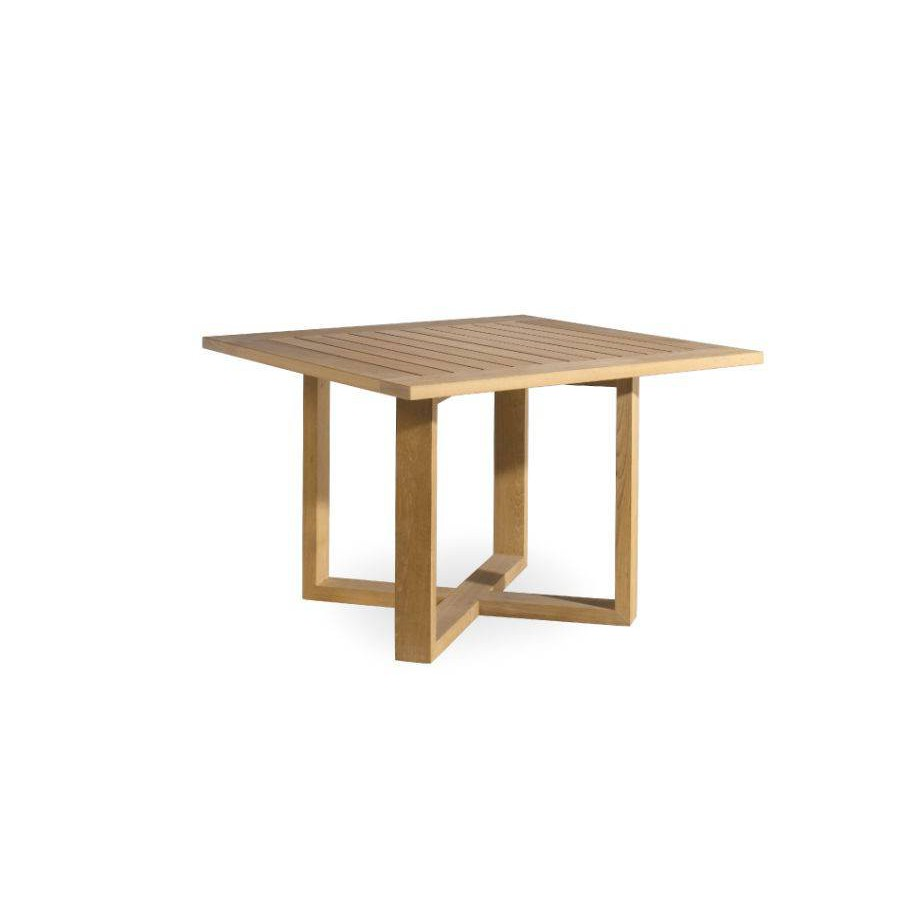 square outdoor dining table siena by manutti