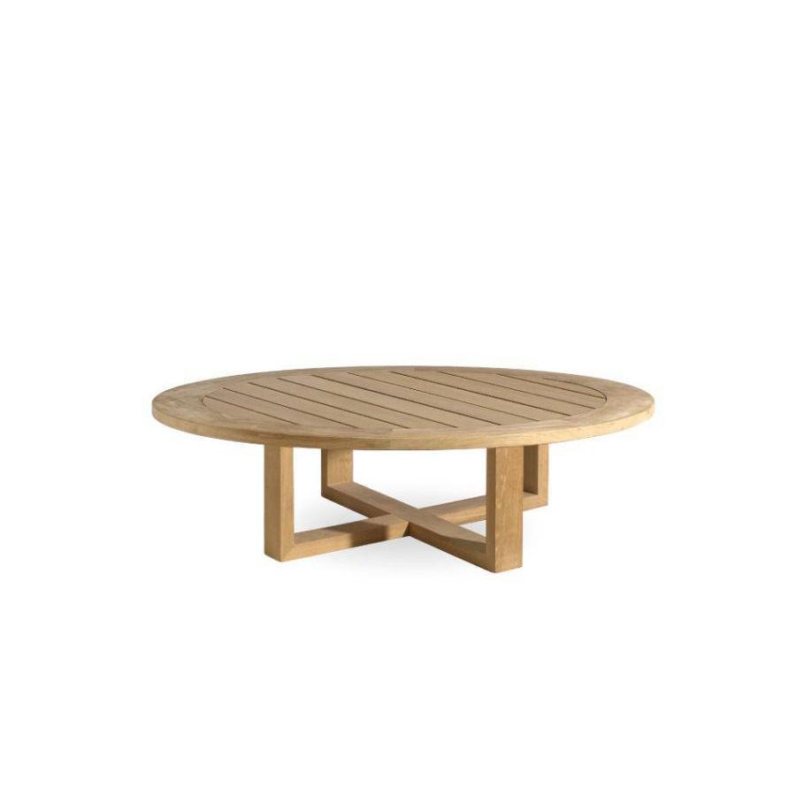 table basse ronde pour l exterieur siena de manutti