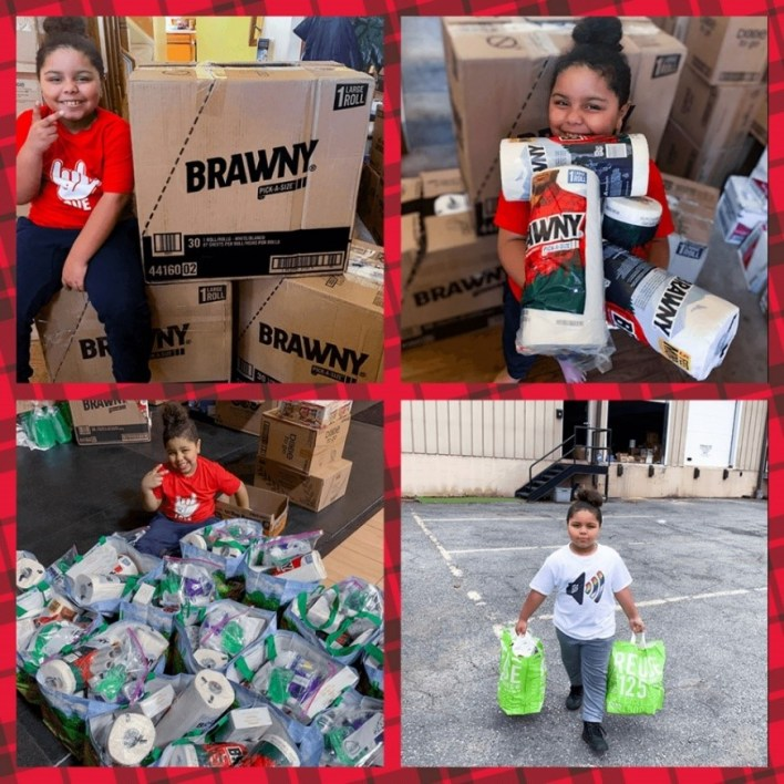 Brawny supports people who are taking action in their own community, Brawny supports people who are taking action in their own community