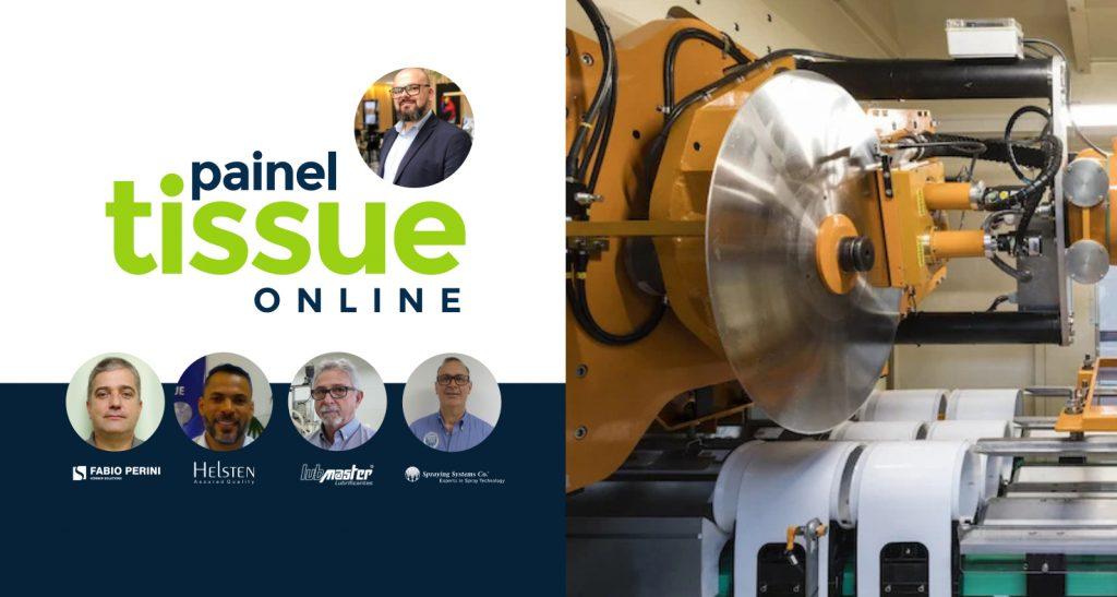 , Primeiro Painel Tissue Online aborda como otimizar a produção da cortadeira