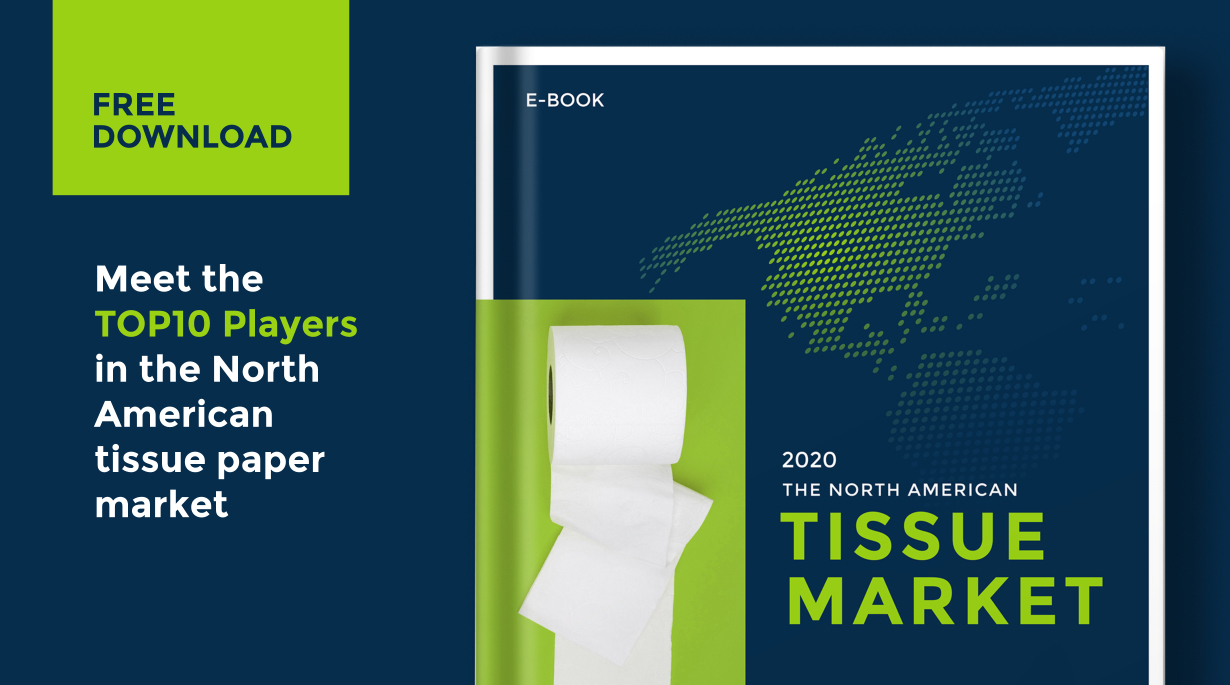 Discover the top 10 players in the North American tissue market, Discover the top 10 players in the North American tissue market
