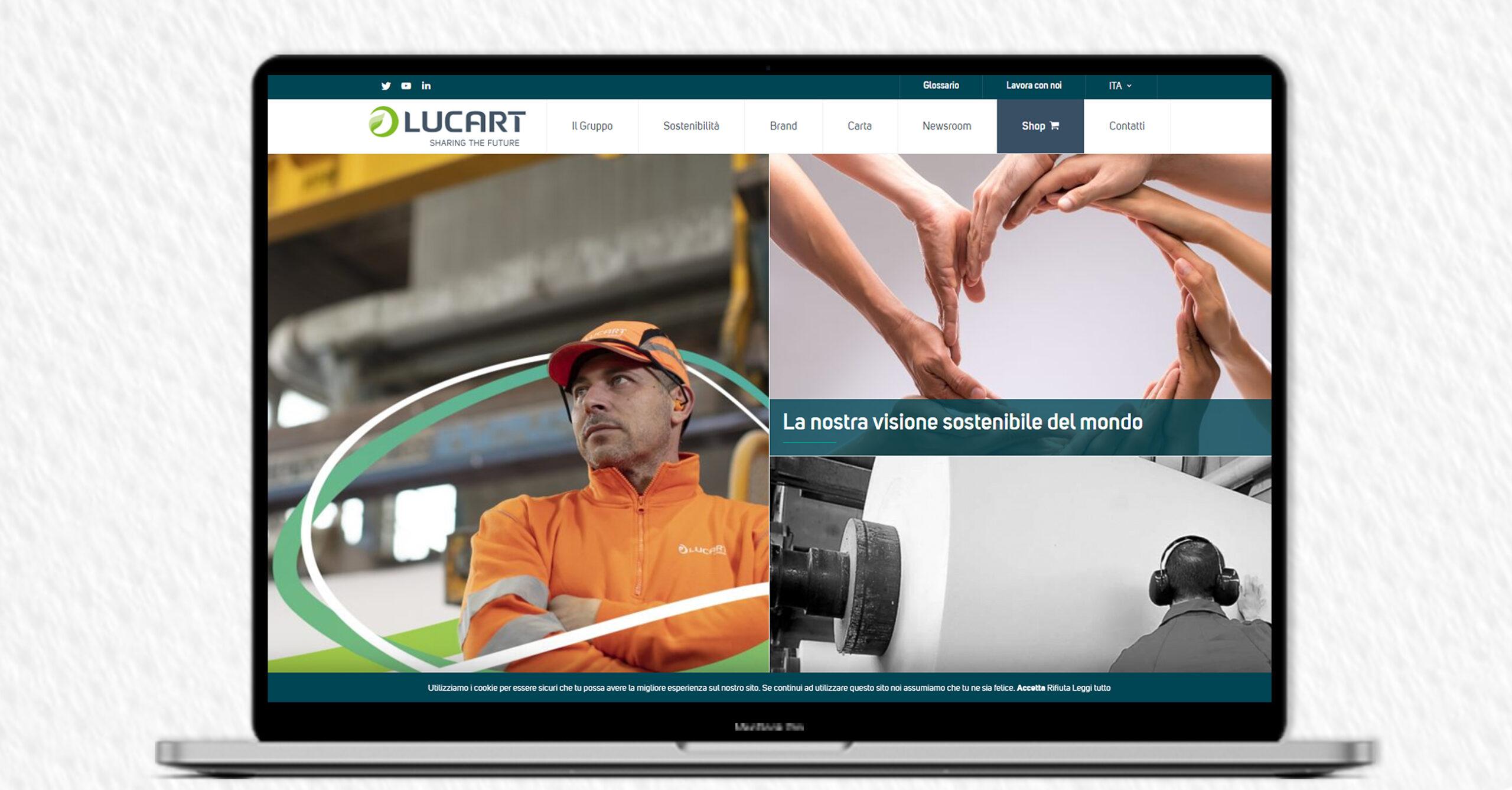, Lucart releases its new website