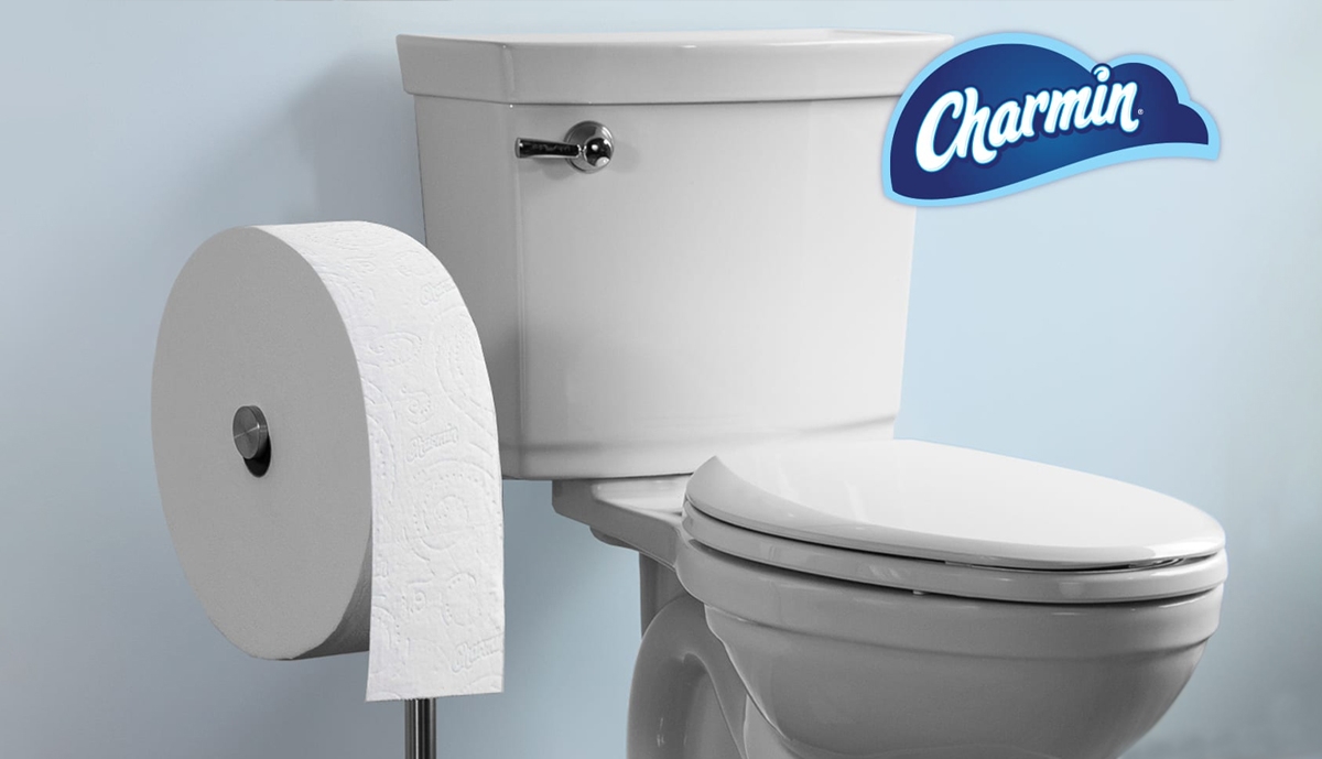 Charmin's 'Forever' toilet paper rolls are gigantic and last a month, Charmin's 'Forever' toilet paper rolls are gigantic and last a month