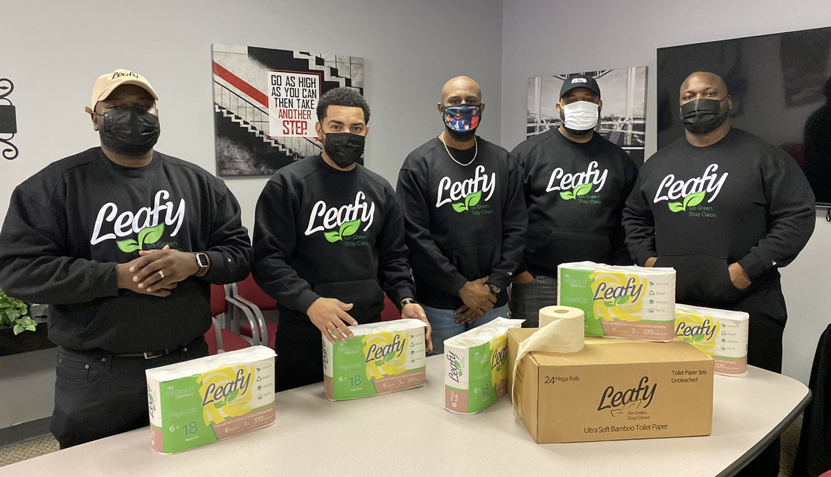 , Pandemic shortage inspires Black-owned toilet paper business