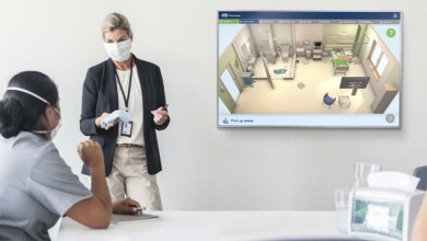 , Interactive online tool for the hospital cleaning process