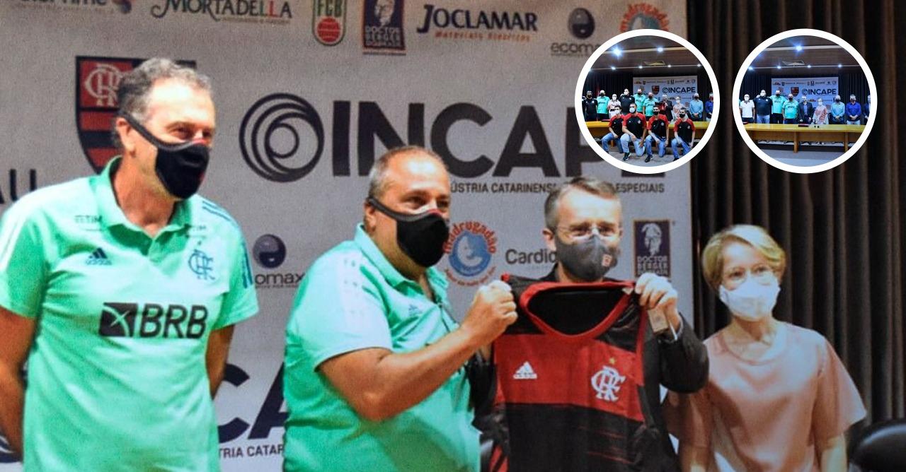 , To encourage sports, INCAPE sponsors Brazilian basketball team