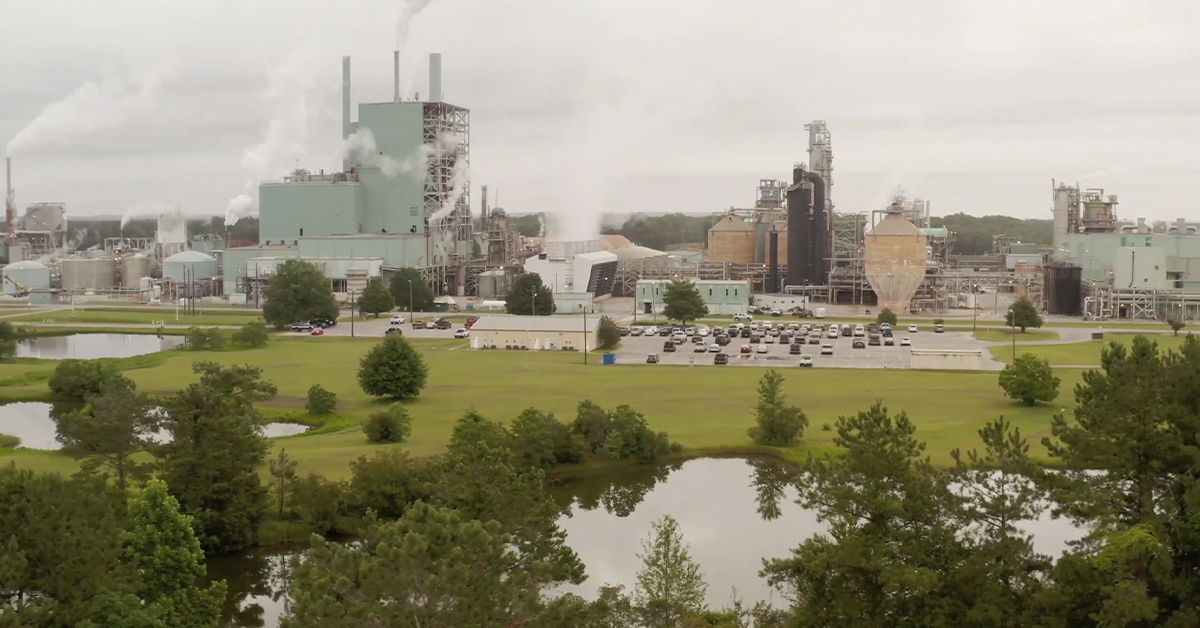 , GP facility becomes first pulp mill to earn EPA ENERGY STAR certification