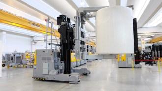 , Unicorn: Elettric80's next generation of parent roll handling