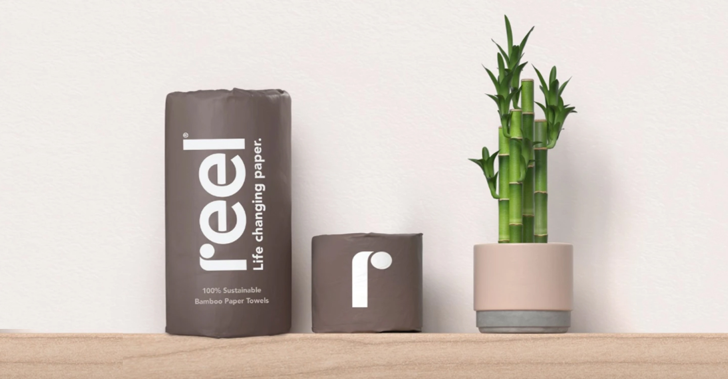 , Reel, a sustainable toilet paper company, partners with Target