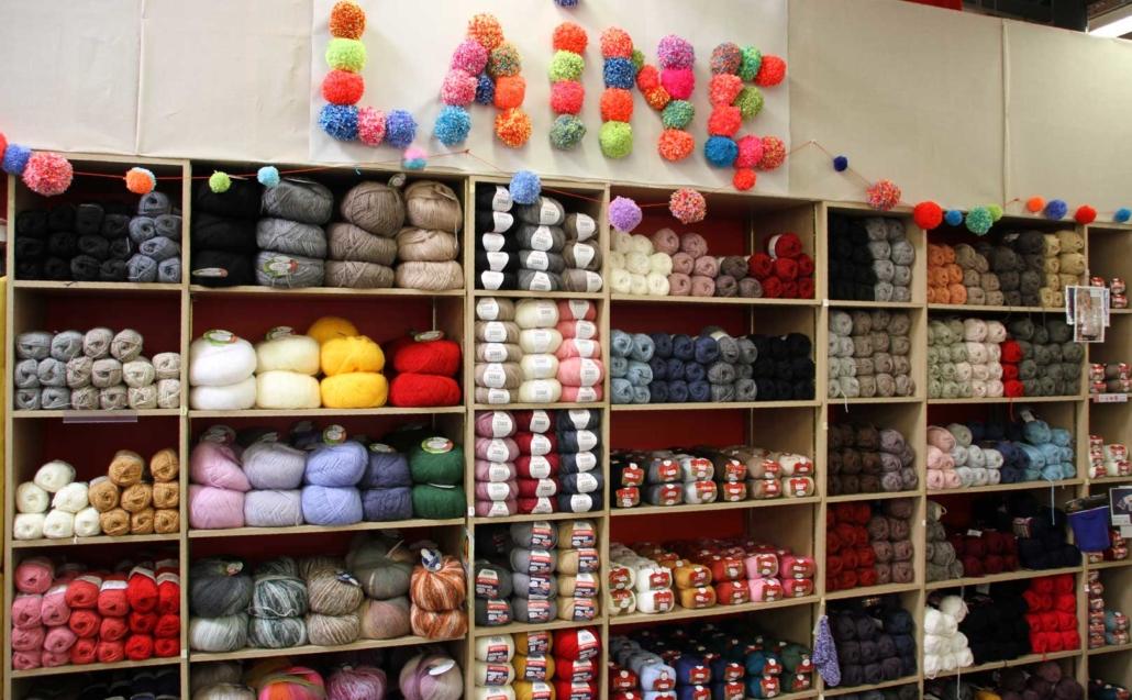 pelote de laine et tricot a petit prix