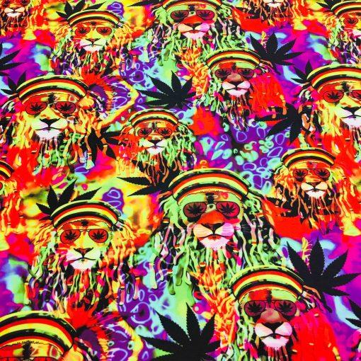 Lycra imprimé Marley