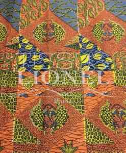 COTON IMPRIME AFRICAIN 054