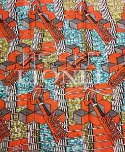 COTON IMPRIME AFRICAIN 056