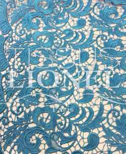 Guipure Elysée Turquoise