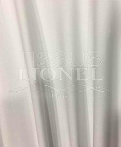 Lycra coton blanc soft