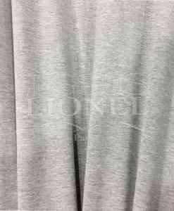 Lycra de algodón de porcelana gris suave