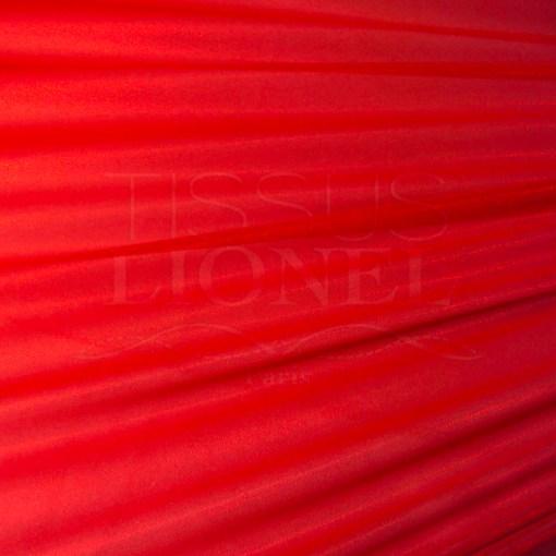 Résille laqué pailleté fond rouge pailleté rouge