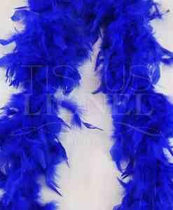 boa simple bleu royal