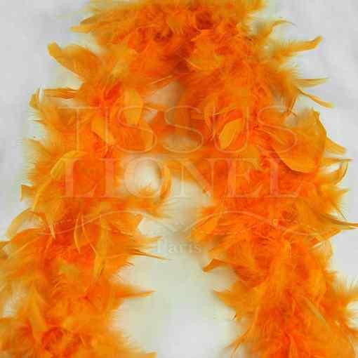 boa simple orange clair