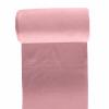 Bord côte jersey tubulaire vieux rose