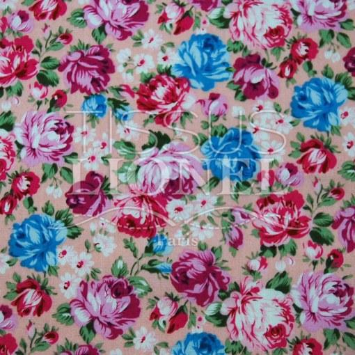 coton imprimé fleurs 003