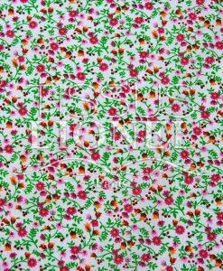 coton imprimé fleurs 014
