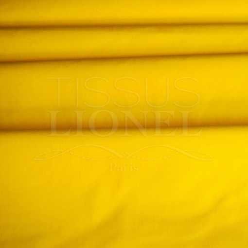 coton uni bouton d'or