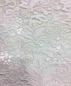 Dentelle guipure quai d'orsay blanc