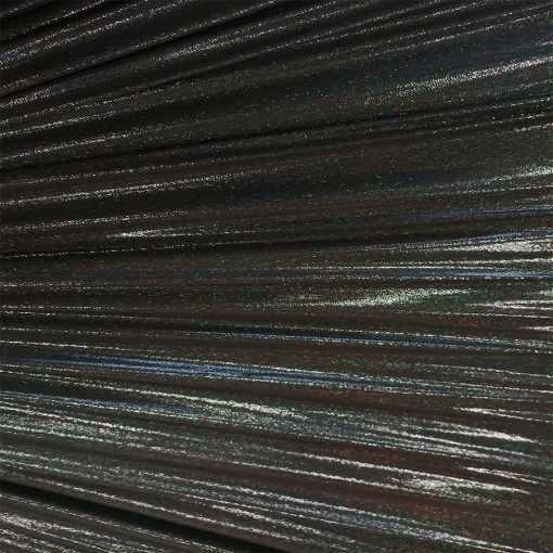 Élasthanne poudre hologramme noir