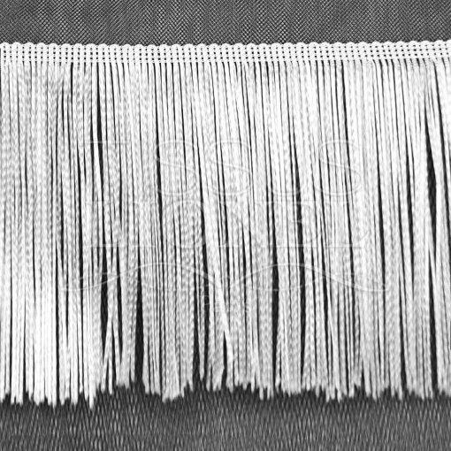 frange 20 cm blanc