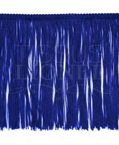 frange 20 cm bleu royal