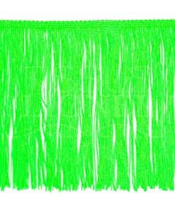 бахрома 20 см неоновый зеленый
