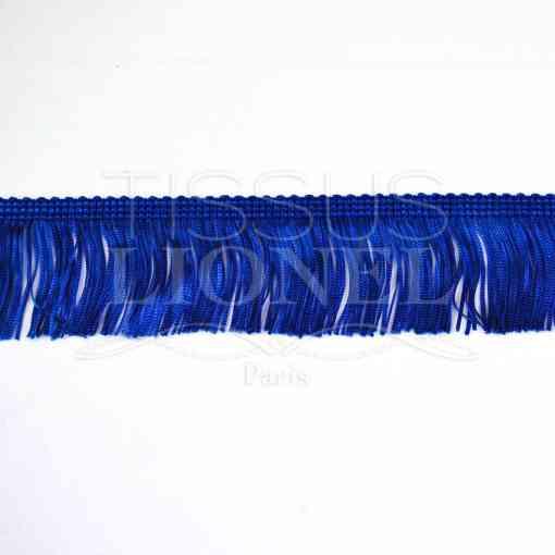 frange 5 cm bleu royal