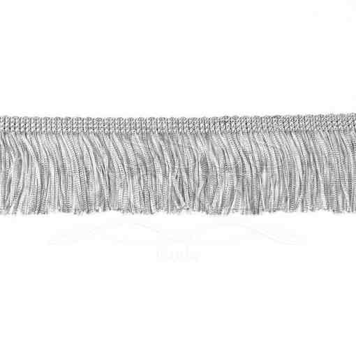 frange 5 cm gris clair