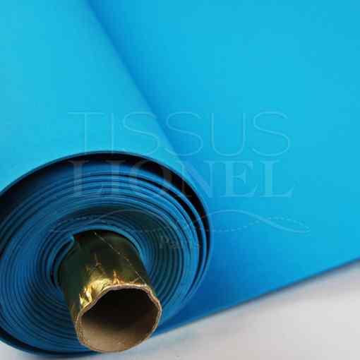 gomme eva uni turquoise