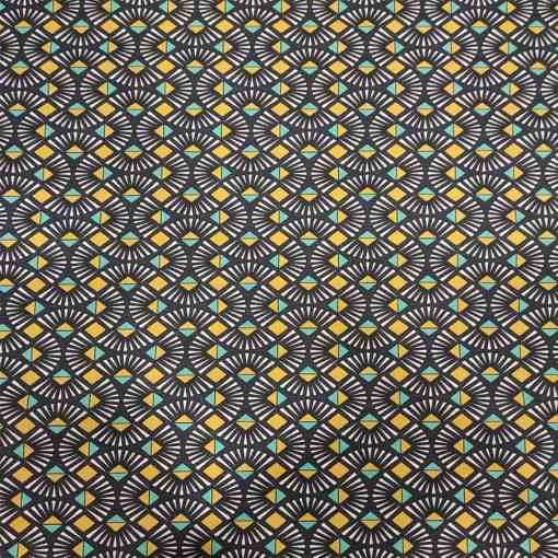Coton motif abstrait