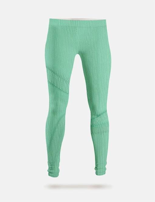 Leggings Lycra Rio vert pale