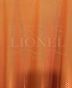 Lycra sequined fuchsia sequined orange background