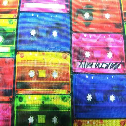 Lycra résille disco dance mix