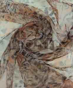 органза напечатанный тигр