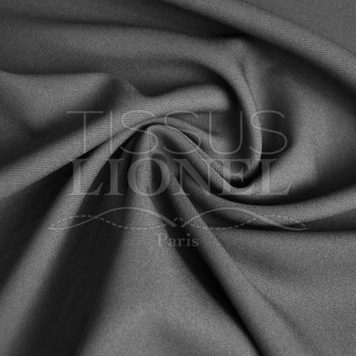 polyester toille uni gris