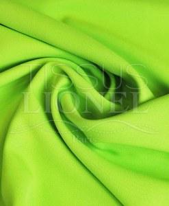 polyester toille uni vert anis
