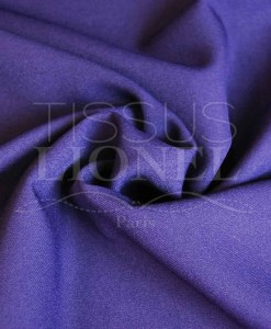 polyester toille uni violet