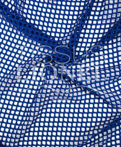 résille grosse maille bleu royal