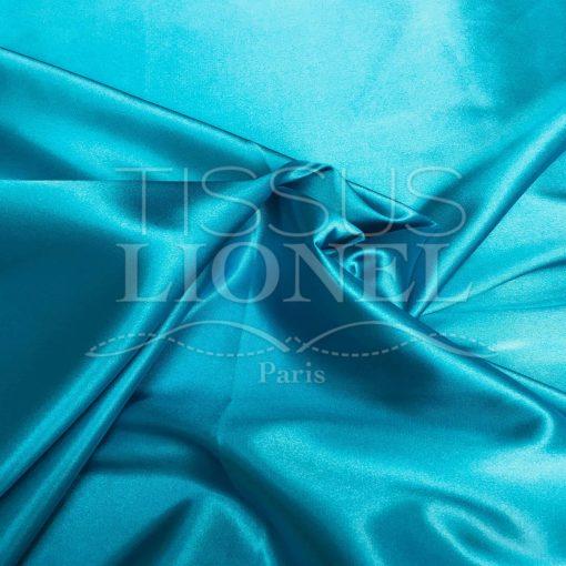 Satin lycra turquoise