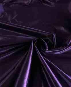 Satin maille charmeuse violet fonce
