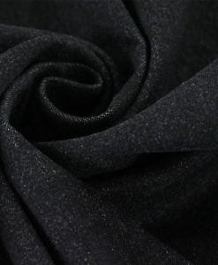 Tissu chambray noir